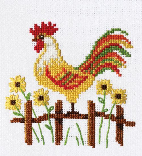 Набор вышивки крестом французский