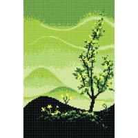 """""""Времена года. Весна"""" - Схема для вышивки бисером"""