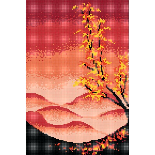 """Схема для вышивки бисером """"Времена года. Осень"""""""