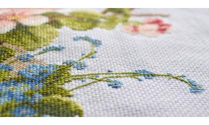 Стебельчатый шов: как вышивать красиво