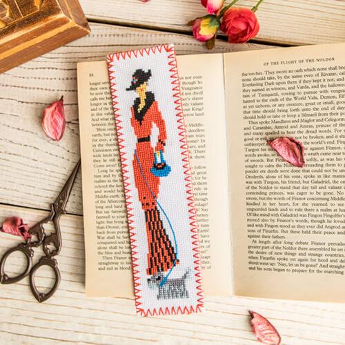 """Закладка для книг """"Леді"""""""