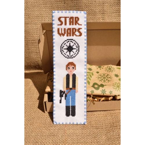 """Закладка для книг """"Звездные войны: Хан Соло"""""""