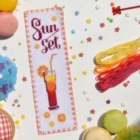 """""""Sunset"""" - набір для вишивки закладки"""