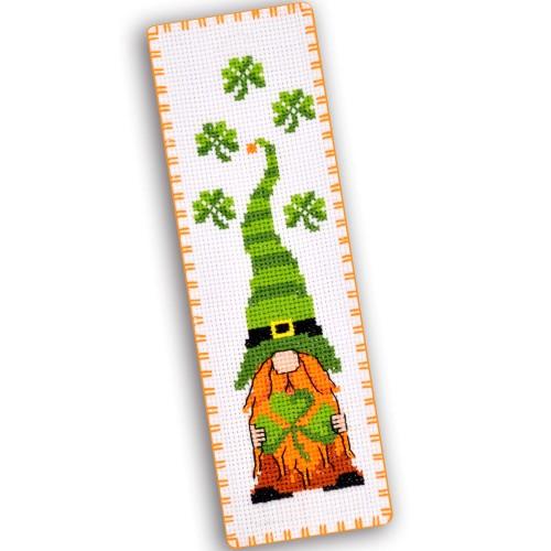 """Набір для вишивки закладки """"Ірландський гном"""""""