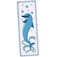 """""""Дельфин"""" - набор для вышивки закладки"""