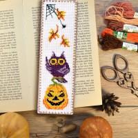 """Осенняя сова"" - набор для вышивки закладки"