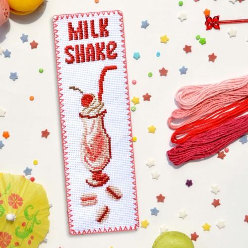 """Набор для вышивки закладки """"Milk Shake"""""""