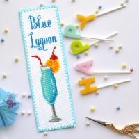 """""""Блакитна лагуна"""" - набір для вишивки закладки"""