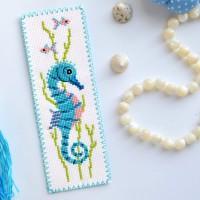 """""""Морській коник"""" - набір для вишивки закладки"""