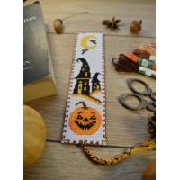 """Хеллоуин - тыква"" Закладка для книг"