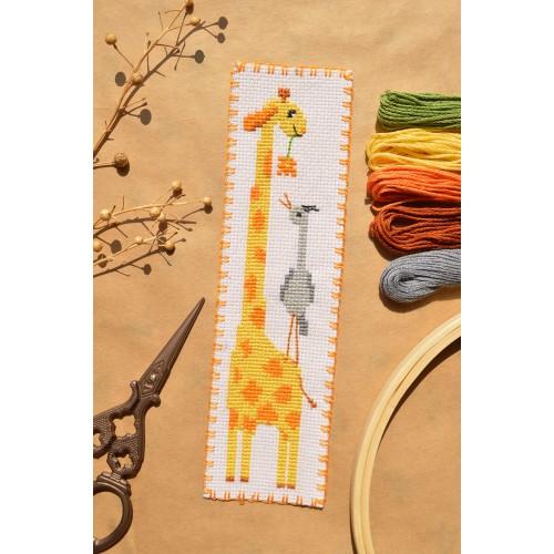 """Набор для вышивки закладки """"Жираф"""""""