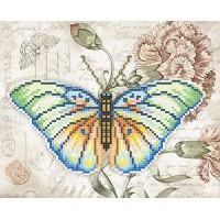 """""""Бабочка Экзотика"""" - Схема для вышивки бисером"""