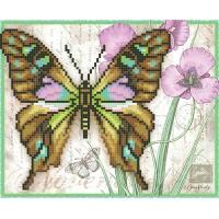 """""""Бабочка Малахит"""" - Схема для вышивки бисером"""