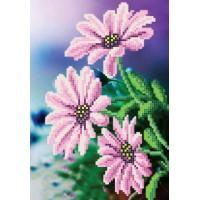 """""""Фіолетові квіти"""" - Схема для вишивки бісером"""