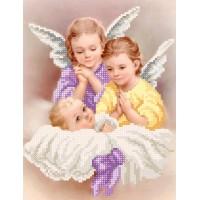 """Набор для вышивки бисером """"Ангелочки"""""""