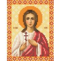 """""""Свята Мучениця Віра"""" - Схема для вишивки бісером ікони"""