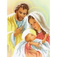 """""""Святое семейство А4"""" - Схема для вышивки бисером"""