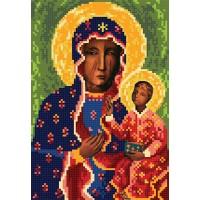 """""""Ченстоховська Божа Матір A4"""" - Схема для вишивки бісером ікони"""