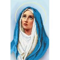 """""""Дева Мария"""" - Схема для вышивки бисером"""