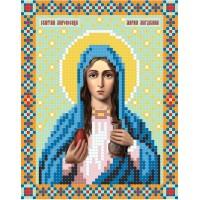"""""""Святая мироносица Мария Магдалина"""" - Схема для вышивки бисером иконы"""