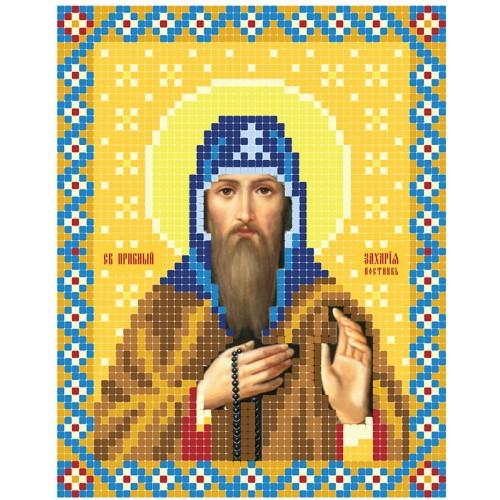 """Схема для вышивки бисером иконы """"Святой Захарий"""""""