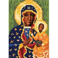 """""""Ченстоховська Божа Матір A5"""" - Схема для вишивки бісером ікони"""