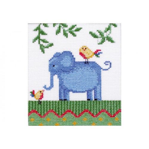 """Набор для вышивки крестом """"Африка. Слон"""""""