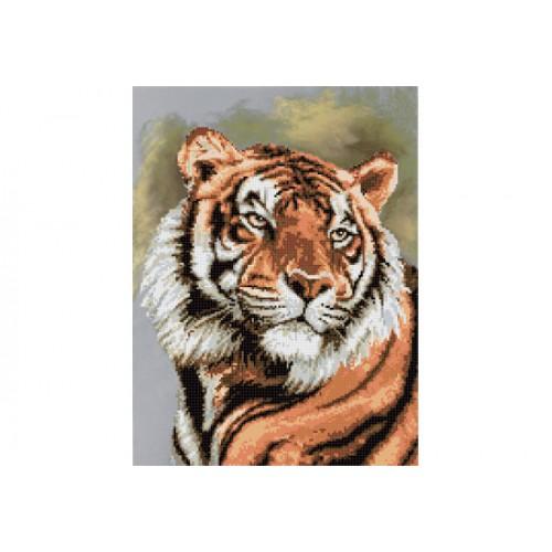 """Схема для вишивки бісером """"Тигр"""""""