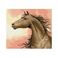"""""""Кінь на сході"""" - Схема для вишивки бісером"""