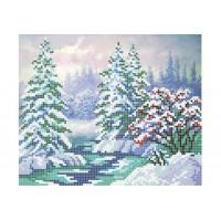 """Зимний лес"" - Схема для вышивки бисером"