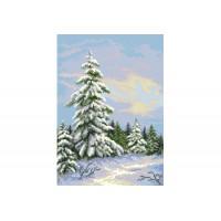 """""""Зимняя елка"""" - Схема для вышивки бисером"""