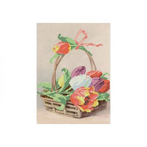 """Схема для вышивки бисером """"Тюльпаны"""""""