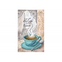 """""""Чашка кофе"""" - Схема для вышивки бисером"""