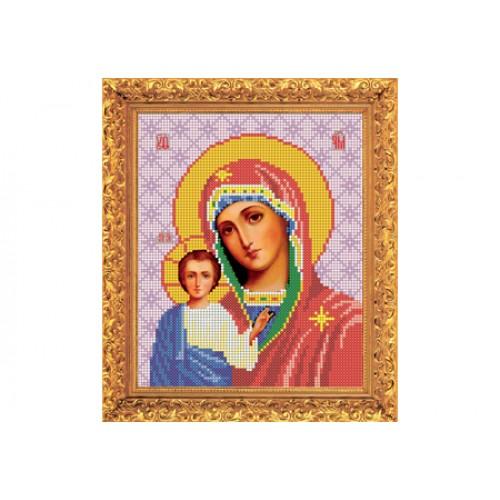 """Набір для вишивання бісером ікони """"Божа Матір Казанська"""""""