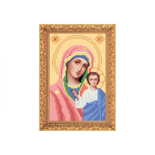 """Набір для вишивання бісером ікони """"Божа Матір Казанська"""" А5"""
