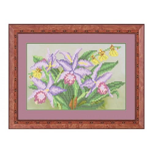 """Набор для вышивки бисером цветов """"Орхидея"""""""