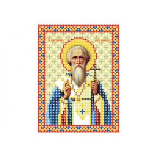 """Схема для вишивки бісером ікони """"Святий Констянтин"""""""