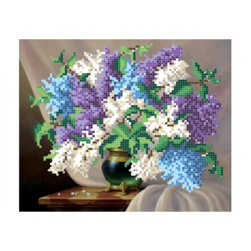 """Набор для вышивки бисером цветов """"Сиреневое настроение"""""""