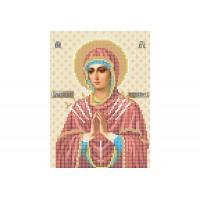 """""""Божья матерь Умягчение злых сердец"""" - Схема для вышивки бисером иконы"""