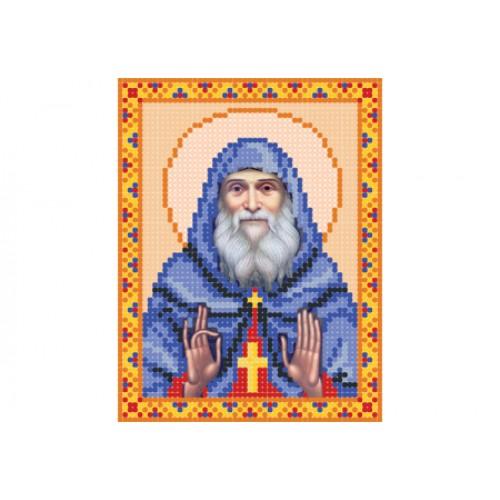 """Схема для вышивки бисером иконы """"Архимандрит Гавриил Ургебадзе"""""""