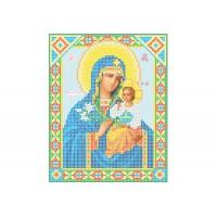 """""""Божья матерь Неувядаемый цвет"""" - Схема для вышивки бисером иконы"""