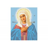 """""""Божа матір Розчулення"""" - Схема для вишивки бісером ікони"""