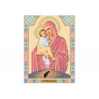 """""""Божья матерь Почаевская"""" - Схема для вышивки бисером иконы"""