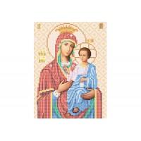 """""""Божа матір Іверська"""" - Схема для вишивки бісером ікони"""