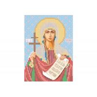 """""""Святая мученица Татиана"""" - Схема для вышивки бисером иконы"""