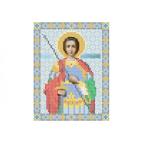 """Схема для вишивки бісером ікони """"Святий Георгій"""""""