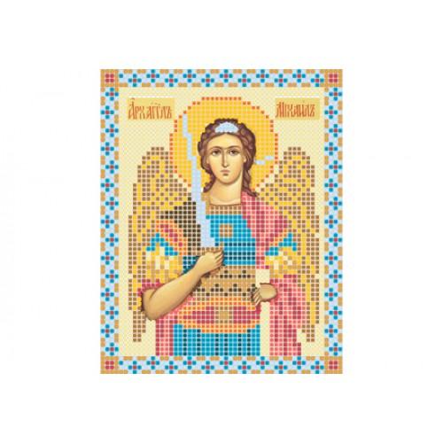 """Схема для вышивки бисером иконы """"Архангел Михаил"""""""