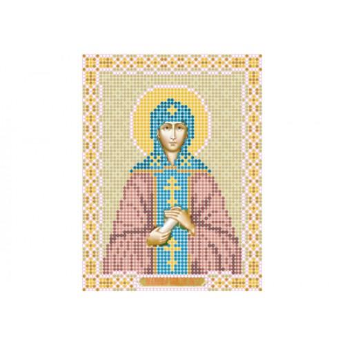 """Схема для вышивки бисером иконы """"Святая Анна"""""""