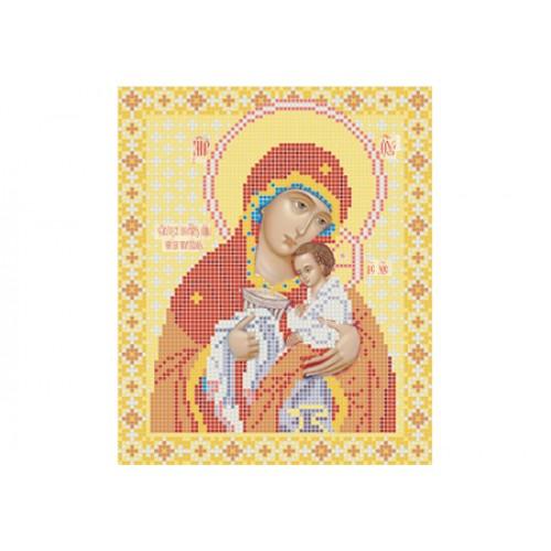 """Схема для вишивки бісером ікони """"Божа матір Чаша терпіння"""""""