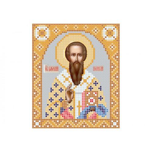 """Схема для вишивки бісером ікони """"Святий Василій Великий"""""""